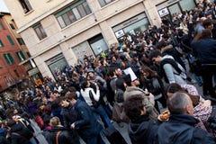 όχλος λάμψης Στοκ φωτογραφίες με δικαίωμα ελεύθερης χρήσης