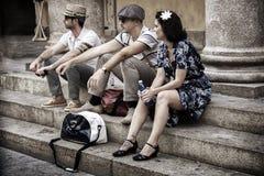 Όχλος λάμψης λυκίσκου της Lindy Στοκ εικόνα με δικαίωμα ελεύθερης χρήσης
