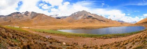 Όψεις από τις Άνδεις Περού Νότια Αμερική Στοκ Εικόνες