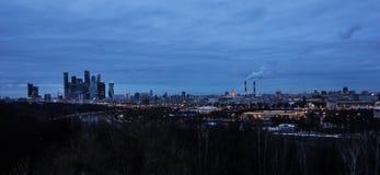 όψεις της Μόσχας Στοκ Εικόνα