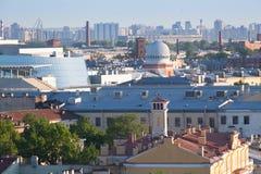 όψη Αγίου ST ποταμών της Πετρούπολης καναλιών βαρκών Στοκ φωτογραφίες με δικαίωμα ελεύθερης χρήσης