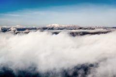 όψη αεροπλάνων βουνών Στοκ Εικόνα