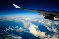όψη αεροπλάνων Στοκ εικόνα με δικαίωμα ελεύθερης χρήσης