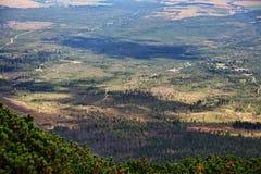 Όψη από τα υψηλά βουνά Tatras Στοκ Φωτογραφίες
