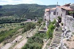 Όψη από την κορυφή του σπιτιού στοκ εικόνα με δικαίωμα ελεύθερης χρήσης