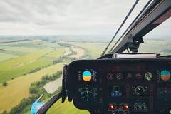 Όψη από το ελικόπτερο Στοκ Εικόνες