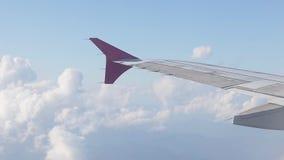 Όψη από το παράθυρο αεροπλάνων φιλμ μικρού μήκους
