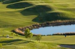 όψη γκολφ σειράς μαθημάτων Στοκ φωτογραφίες με δικαίωμα ελεύθερης χρήσης