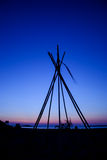 όψη ηλιοβασιλέματος νησιών της Ελλάδας antiparos Στοκ Φωτογραφίες