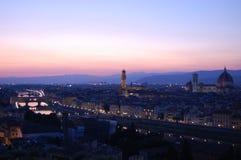 όψη ηλιοβασιλέματος της &P Στοκ Εικόνες