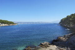 όψη θάλασσας Στοκ εικόνες με δικαίωμα ελεύθερης χρήσης