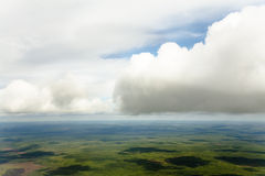 όψη καμπινών αεροπλάνων Στοκ φωτογραφία με δικαίωμα ελεύθερης χρήσης