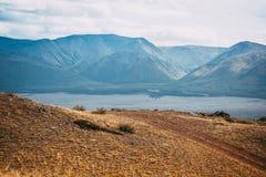 όψη κοιλάδων της Ουκρανίας βουνών της Κριμαίας Στοκ φωτογραφία με δικαίωμα ελεύθερης χρήσης