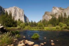 Όψη κοιλάδων Yosemite Στοκ Φωτογραφία