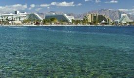 όψη κόλπων aqaba eilat Στοκ φωτογραφία με δικαίωμα ελεύθερης χρήσης