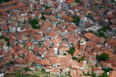 όψη ματιών πόλεων πουλιών Στοκ φωτογραφίες με δικαίωμα ελεύθερης χρήσης