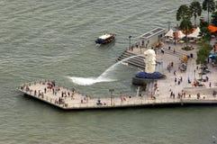 όψη ματιών s Σινγκαπούρη που&la Στοκ Φωτογραφία