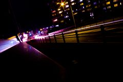 Όψη νύχτας στην Ιαπωνία Στοκ εικόνα με δικαίωμα ελεύθερης χρήσης