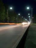 όψη νύχτας morskoi λεωφόρων στοκ φωτογραφία με δικαίωμα ελεύθερης χρήσης