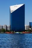 Όψη οριζόντων των ουρανοξυστών κολπίσκου του Ντουμπάι, Ε.Α.Ε. Στοκ Εικόνα