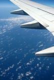 όψη ουρανού αεροπλάνων Στοκ Φωτογραφίες