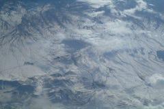 Όψη ουρανού του cloudscape και της γης Στοκ Φωτογραφία