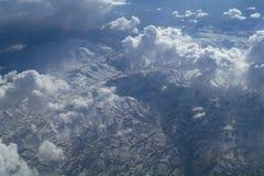 Όψη ουρανού του cloudscape και της γης Στοκ εικόνα με δικαίωμα ελεύθερης χρήσης