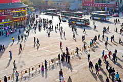 Όψη οδών Xi'an στοκ εικόνα με δικαίωμα ελεύθερης χρήσης