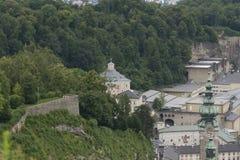 Όψη πέρα από το Σάλτζμπουργκ, Αυστρία Στοκ Εικόνες