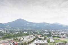 Όψη πέρα από το Σάλτζμπουργκ, Αυστρία Στοκ εικόνες με δικαίωμα ελεύθερης χρήσης