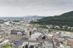 Όψη πέρα από το Σάλτζμπουργκ, Αυστρία Στοκ Φωτογραφία