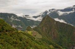 Όψη πέρα από Machu Picchu, Περού Στοκ εικόνες με δικαίωμα ελεύθερης χρήσης