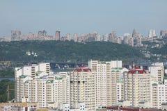 όψη πανοράματος πόλεων kyiv Στοκ Εικόνα