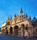 Όψη πλατειών SAN Marco της Βενετίας Στοκ Εικόνες