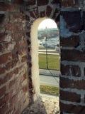 όψη πολεμίστρων fortifi Στοκ φωτογραφίες με δικαίωμα ελεύθερης χρήσης