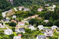Όψη πολλών σπιτιών Στοκ φωτογραφία με δικαίωμα ελεύθερης χρήσης