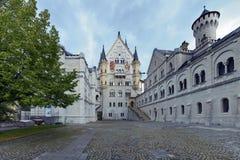 όψη προαυλίων κάστρων της Β& Στοκ φωτογραφία με δικαίωμα ελεύθερης χρήσης