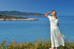 όψη πρωινού νησιών Στοκ εικόνες με δικαίωμα ελεύθερης χρήσης