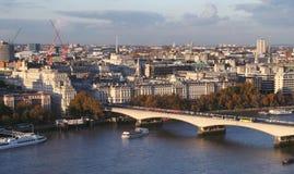 όψη πρωινού του Λονδίνου Στοκ Εικόνες