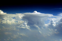 όψη πτήσης 87 σύννεφων Στοκ Εικόνα