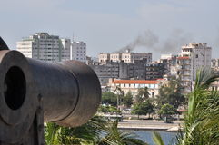 όψη πυροβόλων Στοκ εικόνες με δικαίωμα ελεύθερης χρήσης