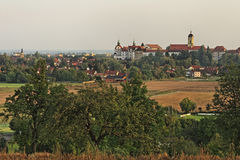 Όψη πόλεων Neuburg στο Δούναβη Στοκ Φωτογραφία