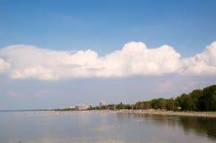 Όψη πόλεων Siofok Στοκ Εικόνα