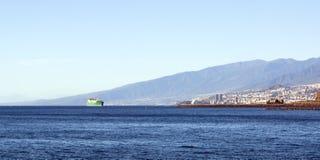 Όψη πόλεων Tenerife Στοκ Εικόνες