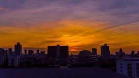 όψη πόλεων της Μπανγκόκ Στοκ φωτογραφία με δικαίωμα ελεύθερης χρήσης