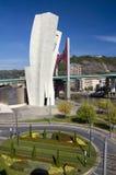 όψη πύργων καταπραϋντικών μο&upsi Στοκ φωτογραφίες με δικαίωμα ελεύθερης χρήσης