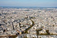 όψη πύργων του Άιφελ Παρίσι Στοκ Εικόνες