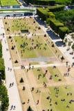 όψη πύργων του Άιφελ Στοκ Φωτογραφίες