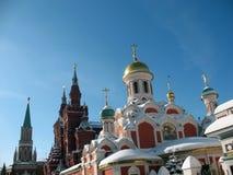 όψη πύργων του Κρεμλίνου Μό&s Στοκ φωτογραφίες με δικαίωμα ελεύθερης χρήσης