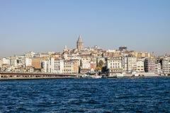 Όψη πύργων Galata στοκ εικόνες